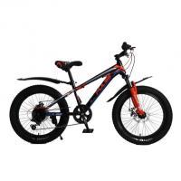 Велосипед PULSE MD130 полу FAT черно/синий/оранжевый