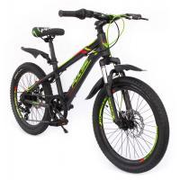 Велосипед PULSE MD1000 серый/синий/красный
