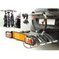 Автобогажник на фаркоп Peruzzo SIENA FISSO для 3-х, сталь,фикс. колесо до17кг