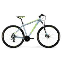 Велосипед Merida Big Nine 10-D 19''L '21 DarkSilver/Green (29'')