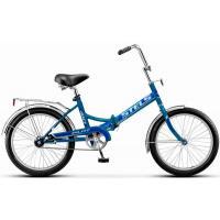 Велосипед Stels Pilot-410 13,5 арт.Z011 бирюзовый/синий