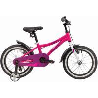 Велосипед NOVATRACK 16'',PRIME, алюм, розовый