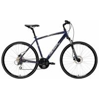 Велосипед Merida Crossway 20-D 46cm 17'  Dark Blue (silver/white)