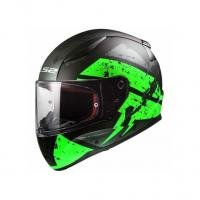 Шлем (интеграл) FF353 KASK RAPID DEADBOLT matt black green XS