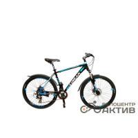 Велосипед LORAK 1.0 (2015) рост 19 (26 21ск.DISK) Black/Blue