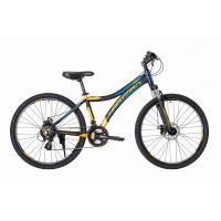 Велосипед HARTMAN Blaze Pro Disk 15 21ск. алюм, черно-оранж.мат
