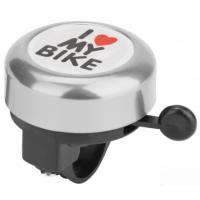 Велозвонок алюм/пластик ''I love my bike'' цветной 3293035-13