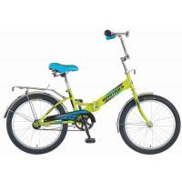 Велосипед NOVATRACK 20'', FS20, скл., салатовый #137219