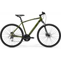 Велосипед Merida Crossway 20-D 46cm S '19 Matt Black/Orange (700C)