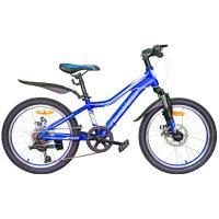 Велосипед Nameless J2200D синий/белый 11 (2021)