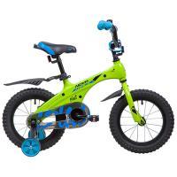 Велосипед NOVATRACK 14'',BLAST, зеленый неон