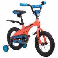 Велосипед NOVATRACK 14'',BLAST, оранж. неон