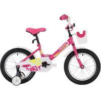 Велосипед NOVATRACK 12'', TWIST, розовый