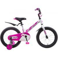 Велосипед NOVATRACK 16'',BLAST, белый-фуксия