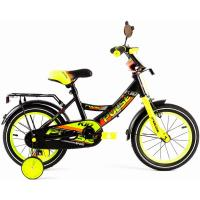 Велосипед PULSE 1805NEW черно/желтый