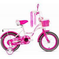 Велосипед PULSE 1606 Milana бело/розовый