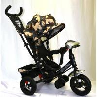 Велосипед 3-х кол A12М TM KIDS комуфляж(Comouflage) фара