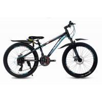 Велосипед KMS Lite MD270 черный/синий