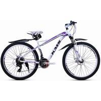 Велосипед KMS MD940 17'' белый/фиолетовый
