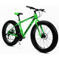Велосипед Ricks Onyx FAT Disc 17'' 21ск, acid/lime (2021)