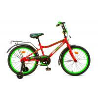 Велосипед MaxxPro ONIX-20-3 красно-зеленый