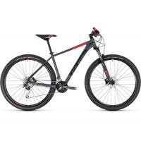 Велосипед CUBE 18 ANALOG 29 grey'n'red 19''