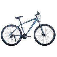 Велосипед HARTMAN Ingword Next HD Disk 19'' 24ск. алюм, черн/сер/синий(2021)
