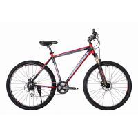 Велосипед HARTMAN Ingword Next HD Disk 19'' 24ск. алюм, черн/сер/красн(2021)