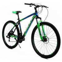 Велосипед KMS'' Lite HD342 19'' черный/оранжевый