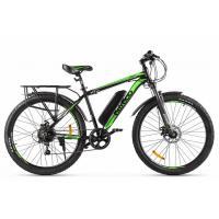 Велогибрид Eltreco ХТ600 Limited Edition черно-зеленый