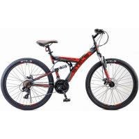 Велосипед Stels Focus MD 21ск 18 черный/красный арт.V010