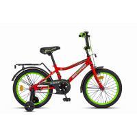 Велосипед MaxxPro ONIX-М16-3 красно-зеленый
