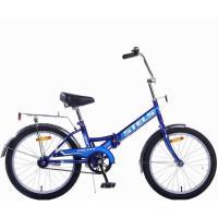 Велосипед Stels Pilot-310 13 артZ011 синий/голубой