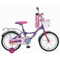 Велосипед NOVATRACK 16'',LITTLE GIRLZZ, фиолетовый