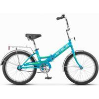 Велосипед Stels Pilot-310 13 артZ011 бирюзовый/зеленый