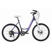 Велосипед HARTMAN Runa Disk 17'' 21ск. алюм, хром фиолетовый