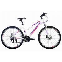 Велосипед HARTMAN Sintra 19'' 21ск. алюм, лазурно-бело сирен. мат.