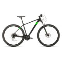 Велосипед CUBE AIM RACE 29 black'n'flashgreen 17'' 20