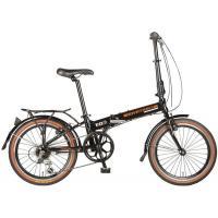 Велосипед NOVATRACK 20'', скл. алюм. 6-ск,черный #117037