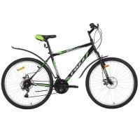 Велосипед Foxx AZTEC D, 18ск, зеленый/черный