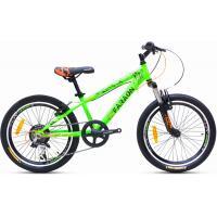 Велосипед Faraon V2020 зелено/черный