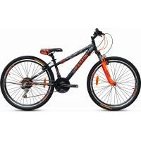 Велосипед Faraon V2020 черно/оранжевый