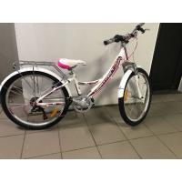 Велосипед HARTMAN Alba V-br, 13 6ск, алюм, сирен-фиол-белый мат.