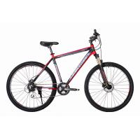 Велосипед HARTMAN Ingword Next HD Disk 21 24ск. алюм, черно-красный мат.