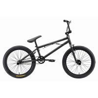 Велосипед Stark'19 Madness BMX 1 черный матовый/серый