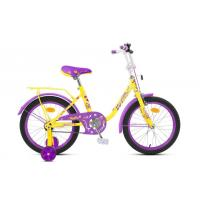 Велосипед MaxxPro SOFIA-М20-4 желто-фиолетовый