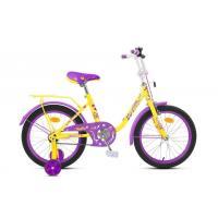 Велосипед MaxxPro SOFIA-М18-4 желто-фиолетовый