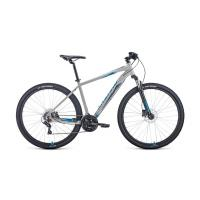 Велосипед FORWARD APACHE 2.0 disc 21ск. 21'' черный мат.