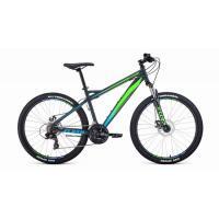 Велосипед FORWARD HARDI 2.0 disc 21ск, 17'' зеленый