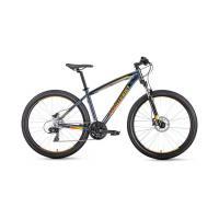 Велосипед FORWARD NEXT 3.0 disc 24ск, 17'' черный мат.